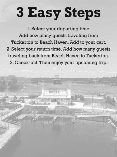 Tuckerton Departure – LBI Ferry Reservations